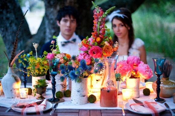Al Fresco Bohemian Wedding Featured on The Sweetest Occasion