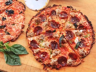 Tortilla Pizza from Serious Eats