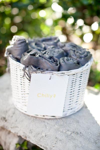 Basket of Blankets