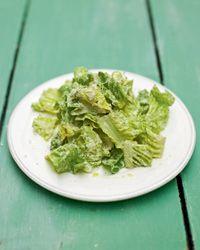 Light Caesar salad from Jamie Oliver