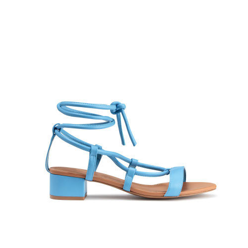 Electric Blue Sandals